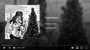 Lenke til Tujahekken på Youtube